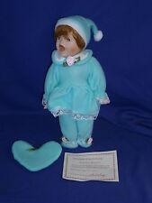 Vintage Ashley Belle Nite-Nite Babies Porcelain Limited Edition Doll 12in c1990s
