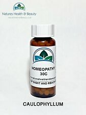 Caulophyllum 30C Dog/Cat/Horse Homeopathic Pillules x 200