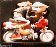 FIGURINE JOE BAR TEAM JEREMIE LAPUREE BIKE HONDA DAX 70 1/18 MOTO BD RESINE