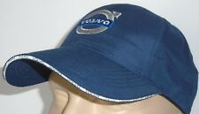 VOLVO CLASSIC BASEBALL CAP BLUE HAT LOGO EMBROIDERED IN FRONT ADJUSTABLE