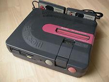 Console SHARP TWIN FAMICOM Noire (AN-500B), courroie neuve, lecteur calibré