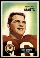 1955 Bowman #7 Frank Gifford NY Giants EX Excellent