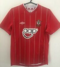 GENUINE AUTHENTIC SOUTHAMPTON FOOTBALL SOCCER HOME SHIRT YOUTH M 146CM 2012/2013