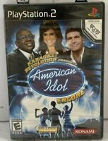 Karaoke Revolution American Idol Encore Playstation 2 Ps2 Kids Game Singing Fun