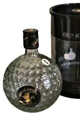 More details for old st andrews clubhouse premium blend scotch whisky golf ball empty bottle 2006
