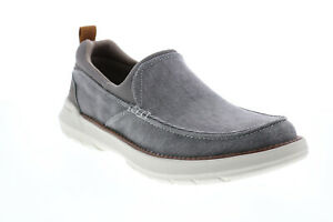 Skechers Doveno Hangout 204050 Mens Gray Loafers & Slip Ons Casual Shoes