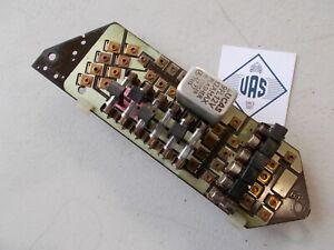 78 Rolls Royce Silver Shadow dash Printed fuse Board Circuit box UD19178 RRE86