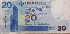 Hong Kong 2009 Bank of China $20 KE 184631