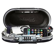 Portable Safe Box Travel Small Cash Security Combination Jewelry Money Personal