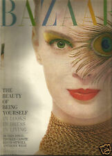 Bazaar Oct 1959-Stillman's Gym NYC-Capote's Swans-May Britt-Buckminster Fuller