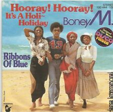 Boney M. - Hooray! Hooray! It's A Holi-Holiday / Ribbons Of Blue (Vinyl-Single)