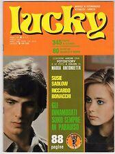 fotoromanzo LUCKY ANNO 1981 NUMERO 151 ANTONIETTA SADLOW BONACCHI