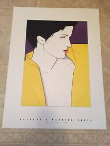 """RARE, NO MORE Printed Ever NEW """"PLAYBOY'S PATRICK NAGEL  COLLECTION"""" LITHOGRAPH"""