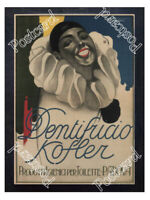 Historic Kofler Toothpaste, Padova, Italy 1910s Advertising Postcard