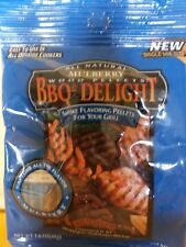 BBQR's Delight All Natural Mulberry Wood Pellets 1.6 OZ one time use