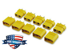 5 Pairs XT90 Bullet Connector Male/Female For RC LiPO Battery - 4.5mm Bullet