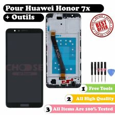 pour Huawei Honor 7X BND-L21 écran tactile LCD Display Assembly Noir Outil Frame