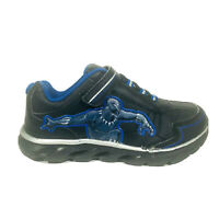 """Marvel Black Panther Shoes Youth Kids Boys Sneakers Size 11.5"""" Black Blue"""