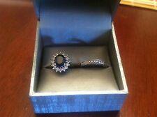 Princess Diana Style Engagement Ring & Wedding Band