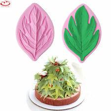 DIY Maple Leaf Shape Silicone Fondant Mould Cake Paste Decorating Baking Tool