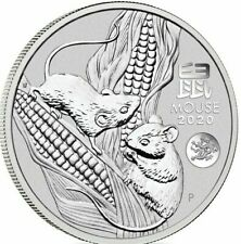 2020 1 Oz Silver Lunar Year of The Mouse (Rat Dragon Privy) BEST PRICE ON EBAY!