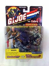 NEW 2002 GI Joe BLOWTORCH Vs. COBRA SNOW SERPENT w/ SOUND ATTACK! Sealed Hasbro