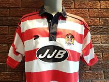 Vintage Rare Wigan Warriors rugby league shirt 2003. Size Large