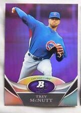 2011 Bowman Platinum Purple Trey McNutt Cubs #BPP92 Baseball Card