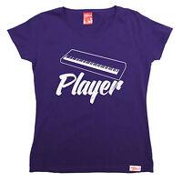 Keyboard Player WOMENS Banned Member T-SHIRT tee birthday music piano instrument