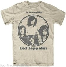Led Zeppelin An Evening With Led Zeppelin Rock Licensed Adult T-Shirt