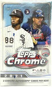 Atlanta Braves - 2021 Topps Chrome Hobby Box Break 9/28