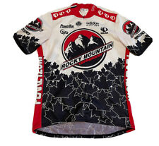 Vintage Rocky Mountain Adidas Cycling Pearl Izumi Jersey Size L NLV