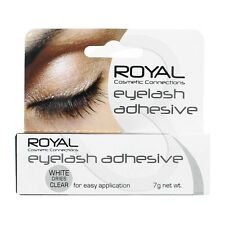 Royal False Eyelash Adhesive 7g White Dries Clear Fake Lash Glue