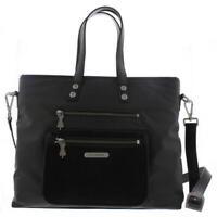 Fly London Koby 585 Womens Black Tote Handbag With Shoulder Strap