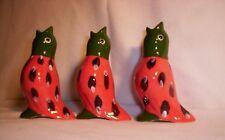 Bird F249 5.765 Ceramic Melon Songird Pie Bird [only 1 per auction]