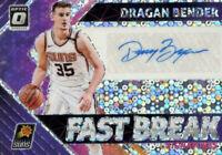 2018-19 Panini Donruss Optic Fast Break Signatures Dragan Bender #FB-DBD Auto