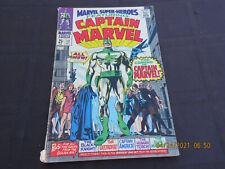 Marvel Super-Heroes #12  Original & 1st Captain Marvel