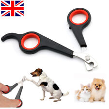 Pet Dog Cat Nail Cutter Claw Toe Clippers Trimmers Animal Grooming Scissors