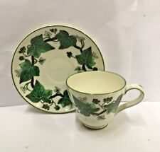 Wedgwood NAPOLEON IVY Demitasse Footed Cup and Saucer  More Available