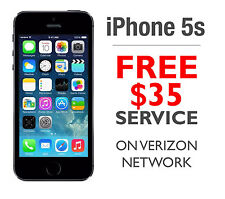 NEW iPhone 5s 16GB 4G LTE Space Gray Total Wireless/STRAIGHT TALK +FREE $35 Plan
