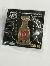 NHL STANLEY CUP CHAMPIONSHIP SHIELD PIN - MONTREAL MAROONS -1926 AND 1935.
