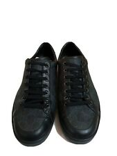 Gucci Guccissima GG Sneakers Shoes Men's  size Uk 8 1/2, US 9 Made in Italy