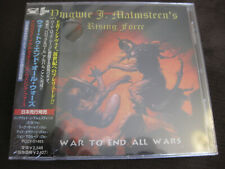 Yngwie J. Malmsteen's Rising Force – War To End All Wars (2013) CD Japan NEW