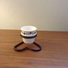 Wrought Iron Heart Votive Cup Holder with Votive Cup