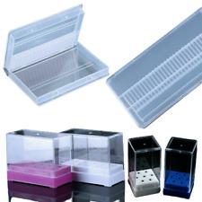 Nail Drill Bit Holder Storage Box Electric Machine Bits Display Accessories Tool