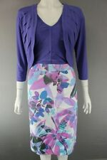 Polyester Floral Calf Length Women's Suits & Tailoring