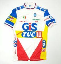 SEB GELATI GIS Tuc Lu Da Uomo Ciclismo Jersey Maglia Ciclismo Italia Bice XXL Nuovo