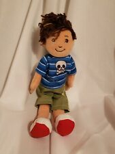 "Groovy Girls plush Asher boy doll Euc 14"" long 2012"