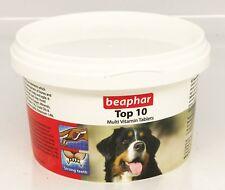 Beaphar Top 10 Multi Vitamin Dog Tablets 180 Tablets Vitamin & Minerals (117g)
