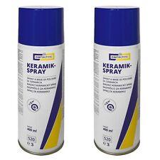 2 x 400ml [18,50€/L] Cartechnic Keramikspray Keramik-Spray Trennschmiermittel